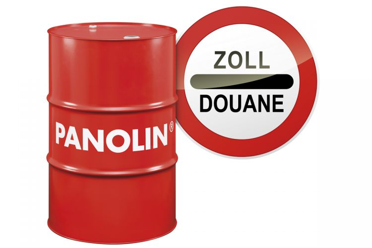 PANOLIN's first export of engine and hydraulic oils