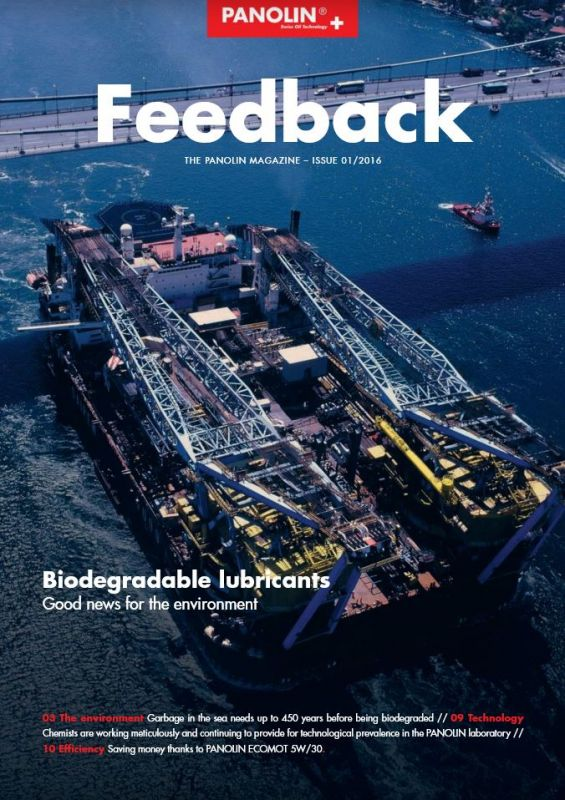 PANOLIN Feedback issue 1 april 2016